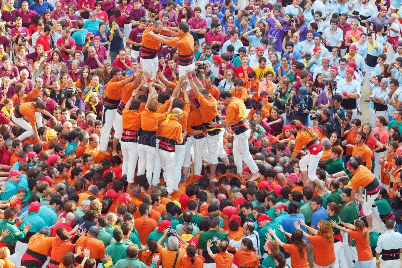 Tarragone, Espagne - 4 octobre 2014 photo libre de droits