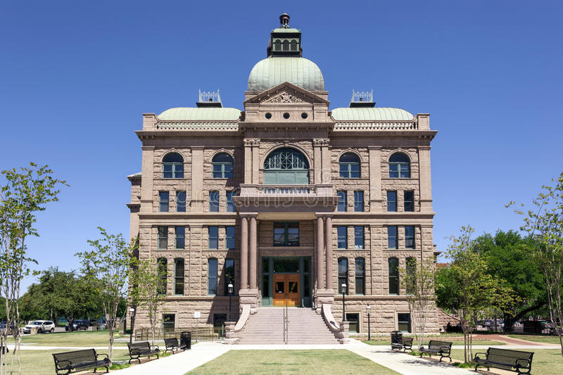 Tarrant County Courthouse in Fort Worth, USA royalty free stock photos