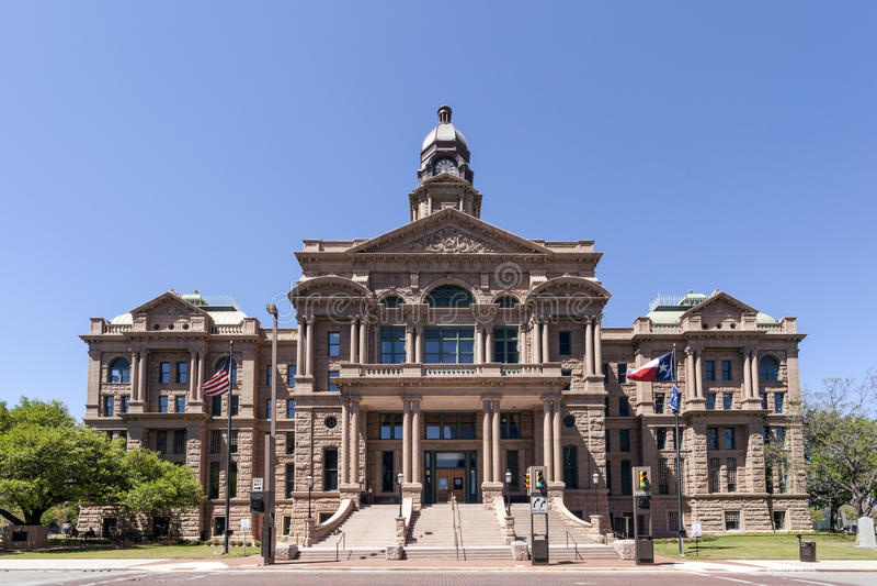 Tarrant County Gericht in Fort Worth, USA stockfotos