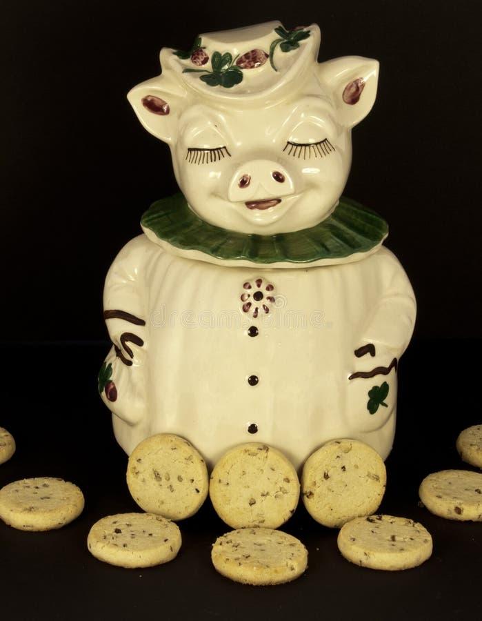 Tarro de galletas foto de archivo libre de regalías