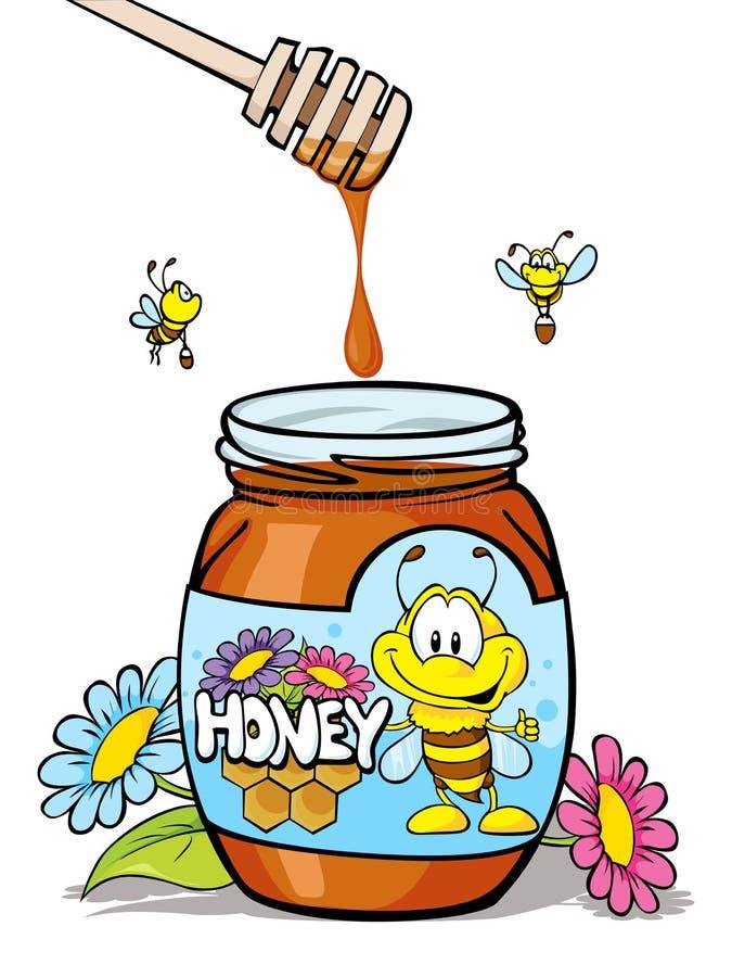 Tarro de la miel libre illustration