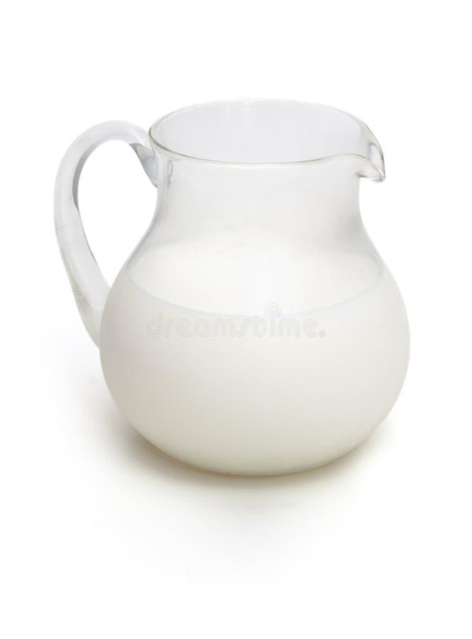 Tarro de leche imágenes de archivo libres de regalías