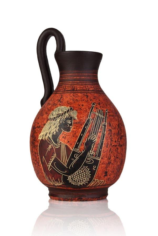 Tarro del griego clásico imágenes de archivo libres de regalías