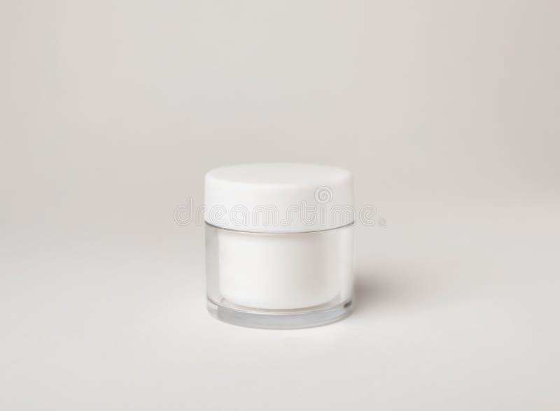Tarro del producto cosmético fotos de archivo