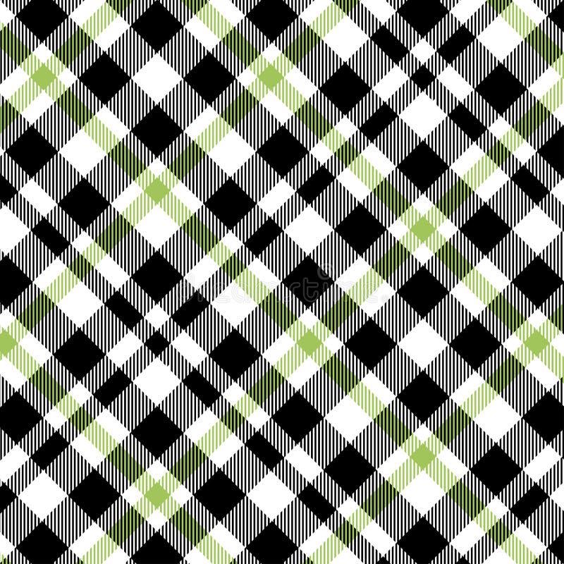 Tartã, ilustração sem emenda do vetor do teste padrão da manta A textura quadriculado para a tela da roupa imprime, design web, m ilustração do vetor