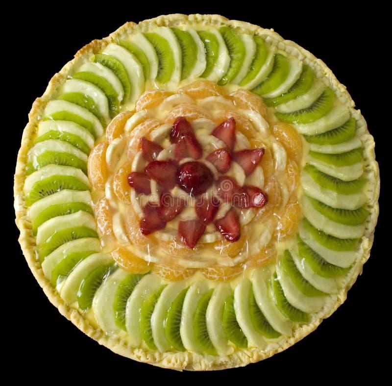 Tarta de la fruta imagen de archivo libre de regalías