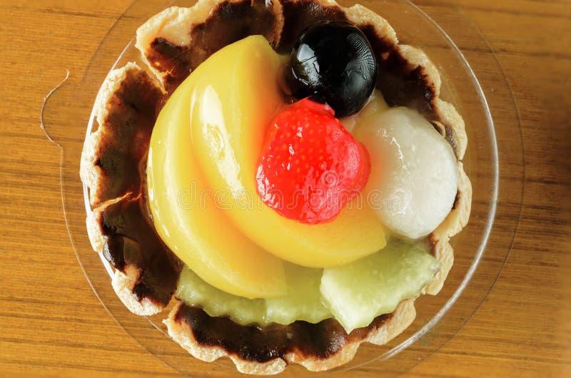 Tarta de la fruta fotografía de archivo libre de regalías
