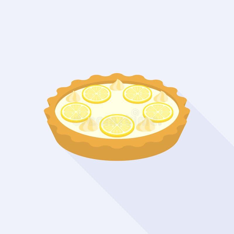 Tarta de la migaja del limón libre illustration