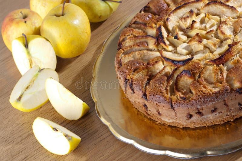 Tarta de manzanas foto de archivo libre de regalías