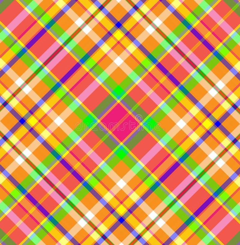 tartan шотландки ткани иллюстрация штока