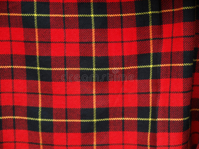Tartan. Textile pattern useful as a background stock image