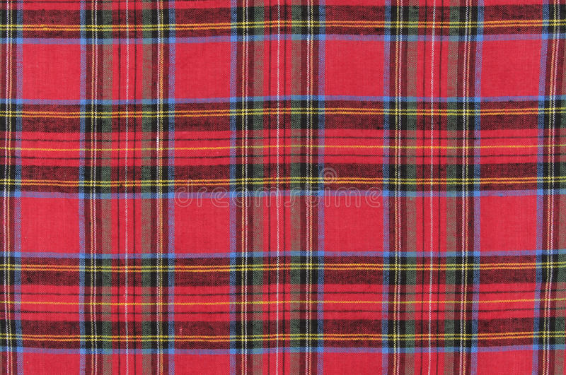 Tartan. Material as a background and texture stock photos