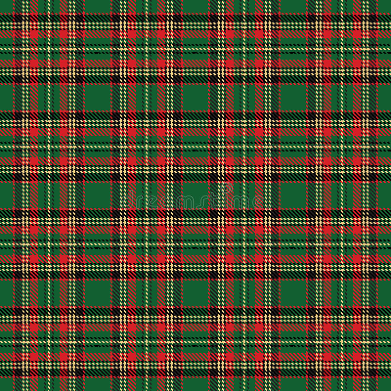 Download Tartan stock vector. Image of green, painting, black - 27817740
