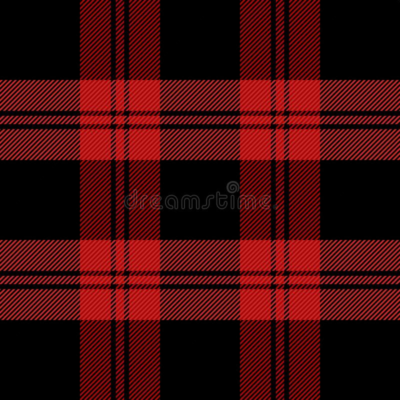 Tartan del nuovo anno di Natale Gabbia dello Scottish del modello royalty illustrazione gratis