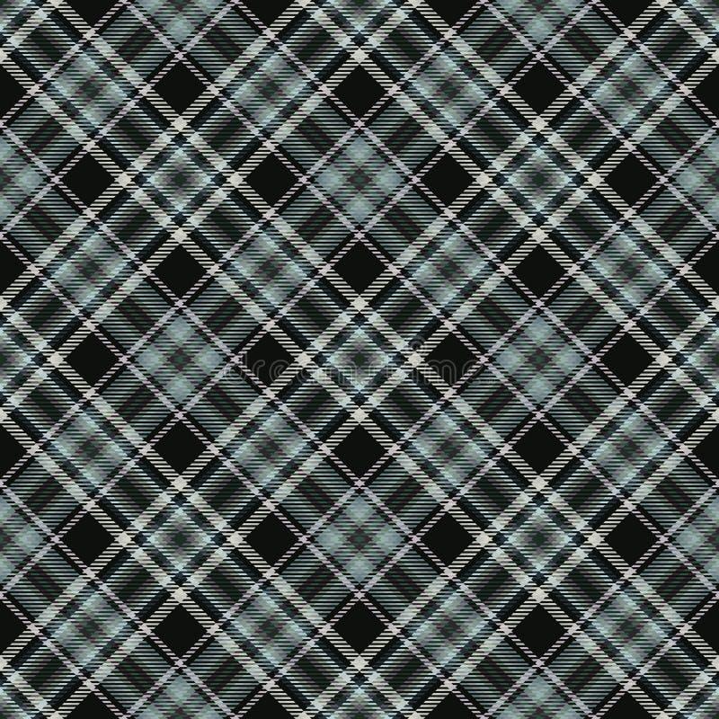 Tartan diagonal de tissu, textile de modèle, contexte anglais photo libre de droits