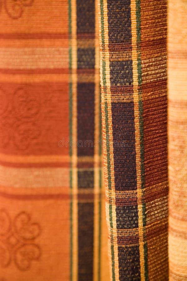 Tartan pattern fabric royalty free stock photography