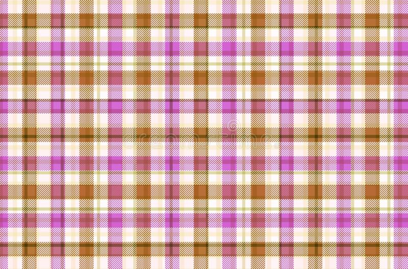 Tartan pattern, Scottish traditional fabric. Illustration design. Plaid, texture, wallpaper, colors, jacket, wool, abstract, flannel, cross, line, repeat stock illustration