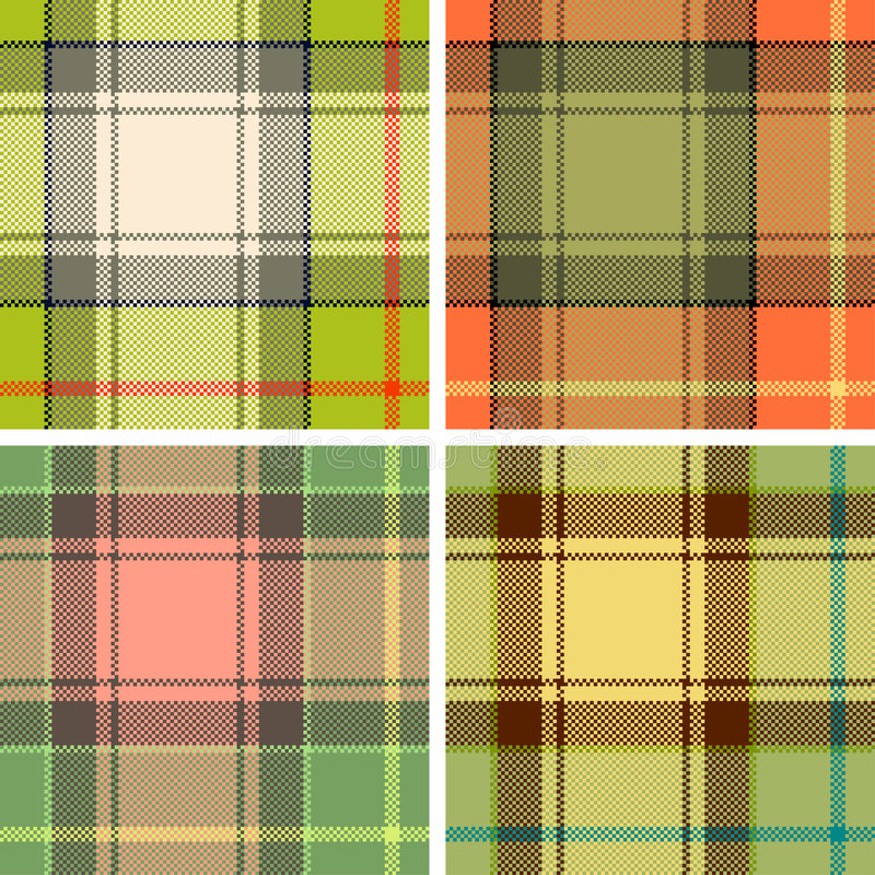 Download Tartan plaid stock vector. Illustration of color, abstract - 4422314