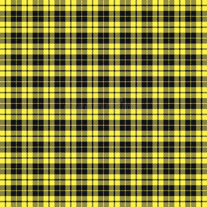 Tartan plaid. Pattern Scottish cage stock illustration