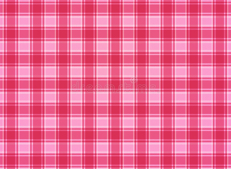 Tartan plaid pink vector royalty free stock photo
