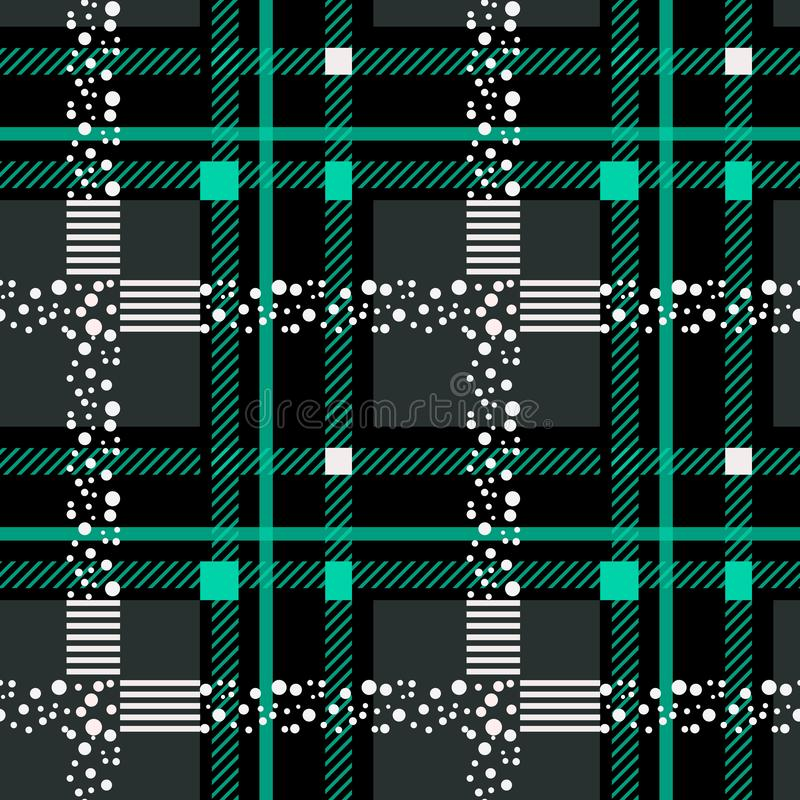 Free Tartan Plaid Scottish Seamless Pattern Background. Black And Blue Color Wrap. Flannel Shirt Patterns. Trendy Tiles Vector Stock Photography - 147035702