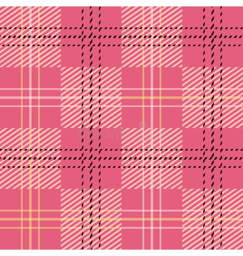 Tartan / Plaid seamless parttern / Check pattern stock illustration