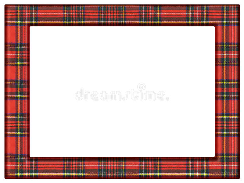 Tartan quilt frame stock photo. Image of frame, winter