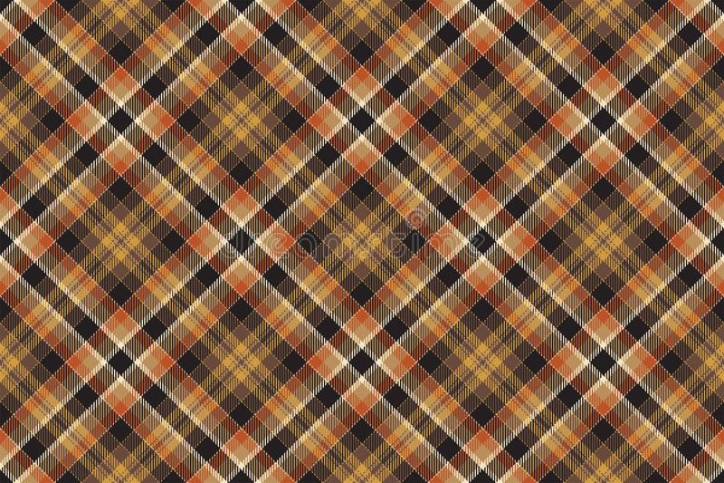 Tartan scotland seamless plaid pattern vector. Retro background fabric. Vintage check color square geometric texture. vector illustration