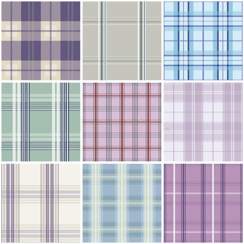 Download Tartan seamless pattern stock vector. Image of background - 20950591