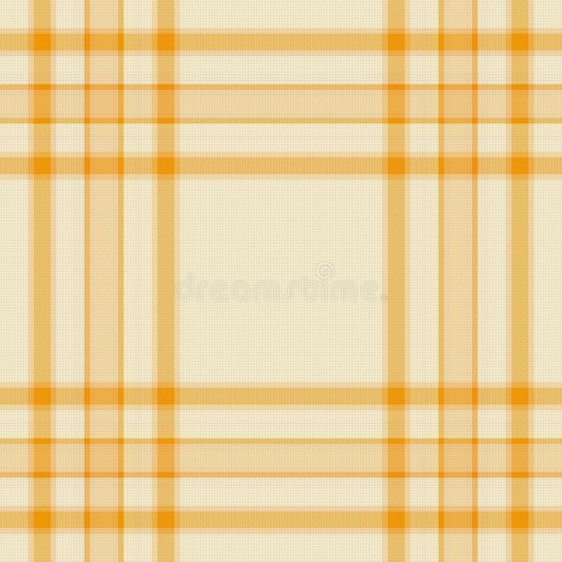 Tartan seamless pattern stock illustration