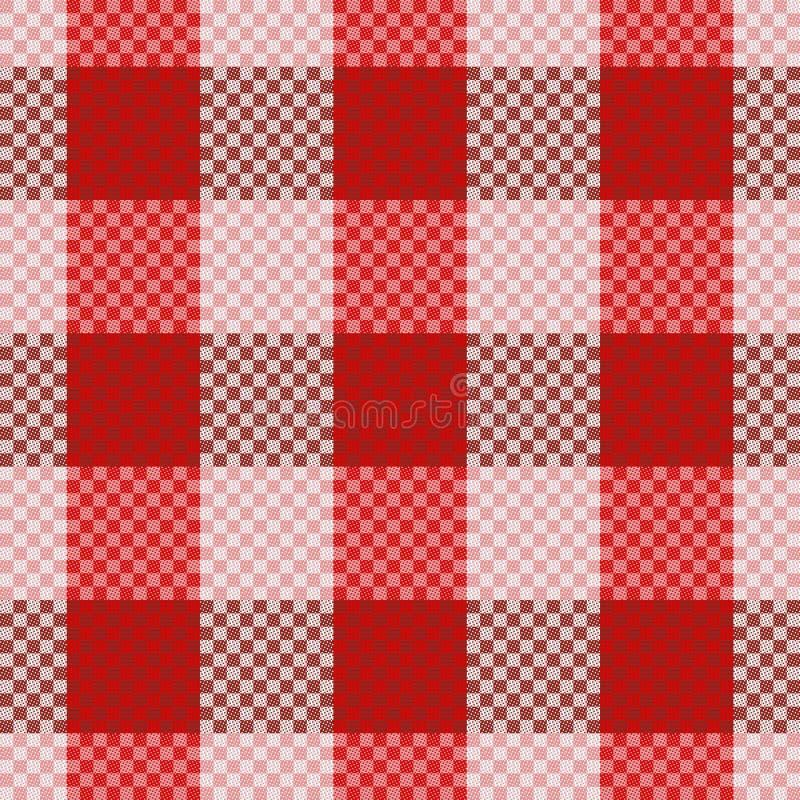 Tartan seamless pattern royalty free illustration