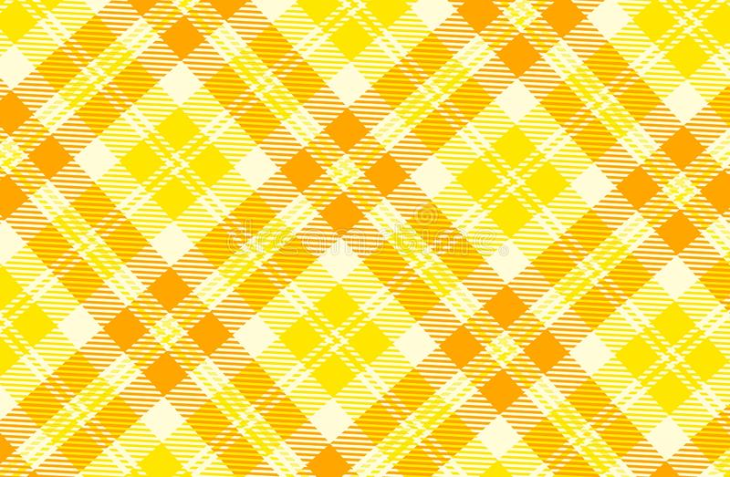 Tartan seamless pattern background. Concept style. Tartan seamless pattern background concept style design flannel gingham graphic creative yellow line cross stock images