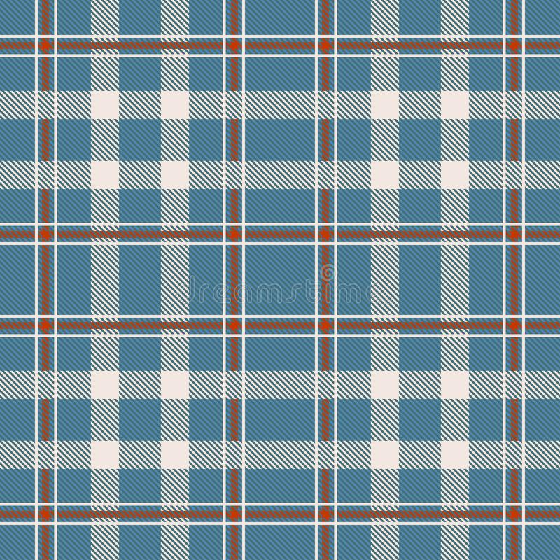 Tartan seamless pattern. Background texture for - plaid, tablecloths, clothes, shirts, dresses, paper, bedding, blankets. stock illustration