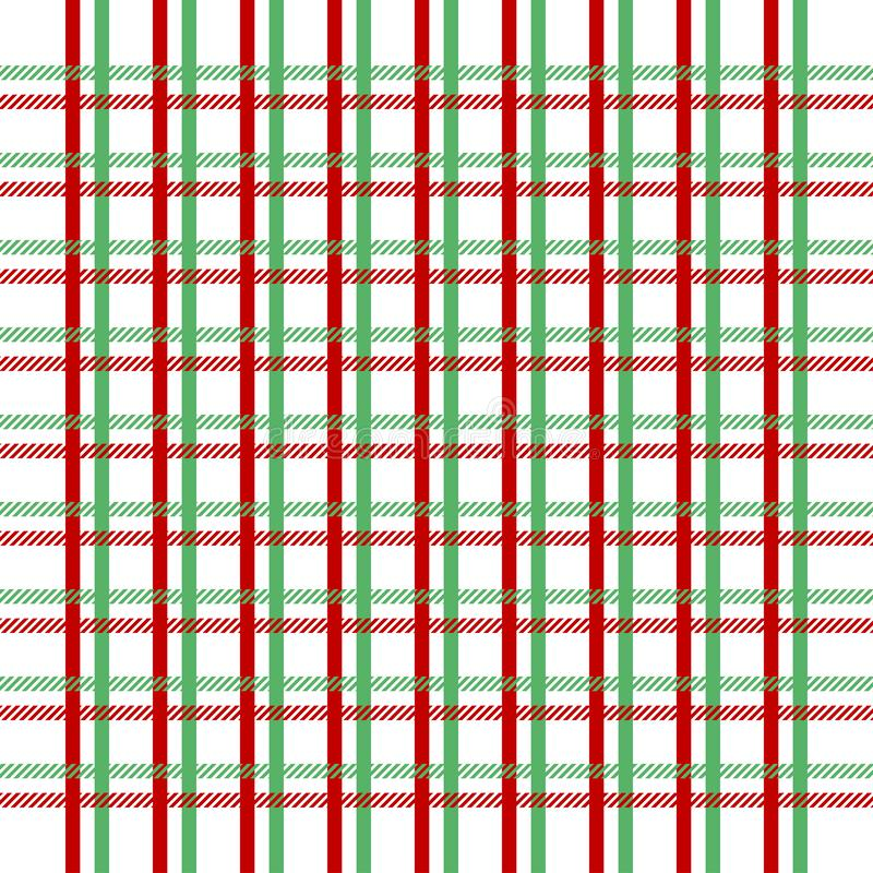 Tartan seamless pattern green and red.Texture for plaid, tablecloths, clothes, shirts, dresses, paper, bedding, blankets, quilts. And other textile products royalty free stock photos