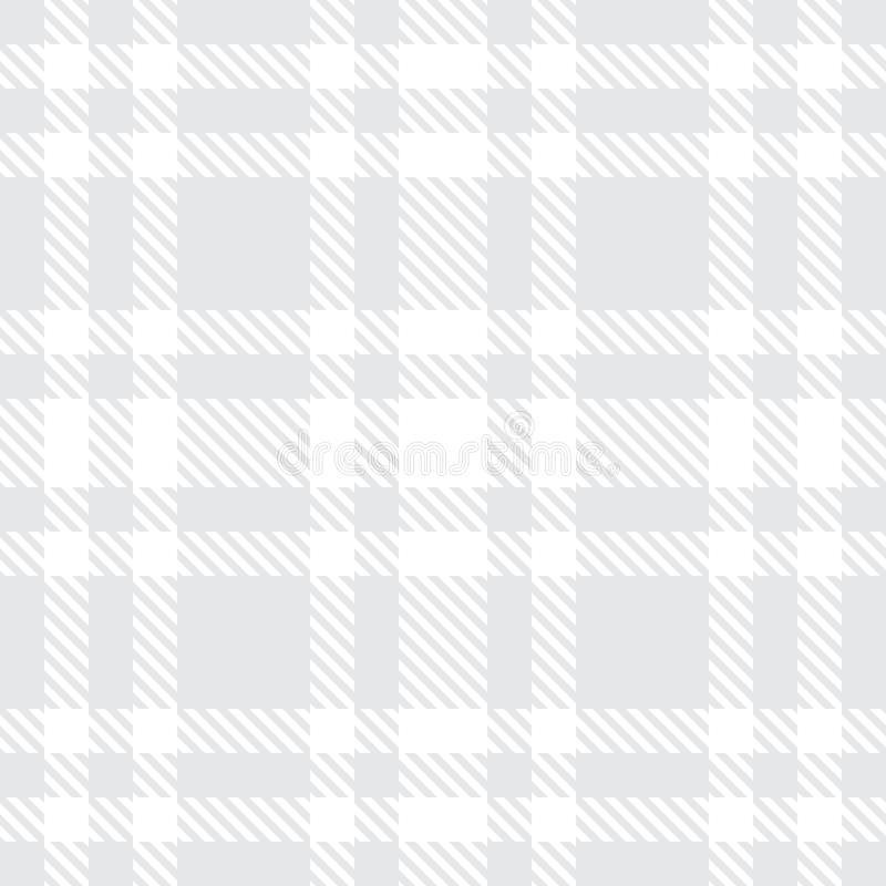 Tartan seamless vector pattern. Checkered plaid texture. Geometrical square background for fabric stock illustration