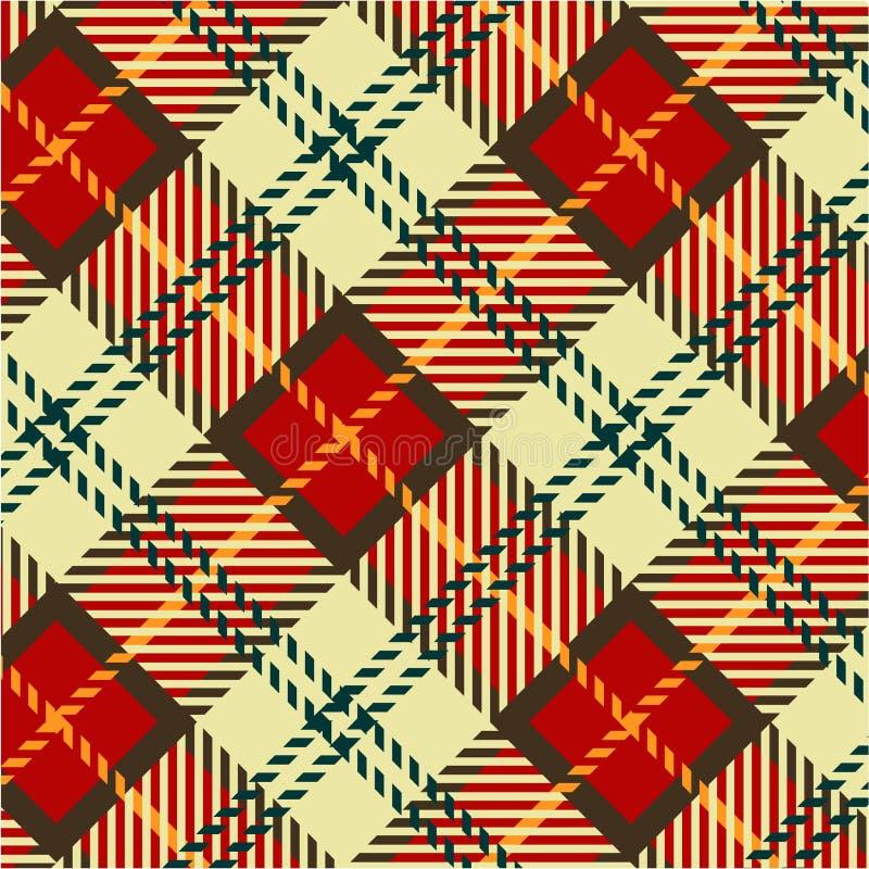 Download Tartan texture stock illustration. Image of scarf, britain - 14948766