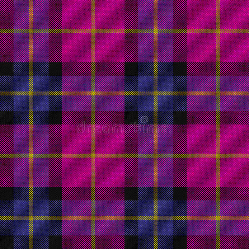 Tartan texture. In blue and pink colors stock photography