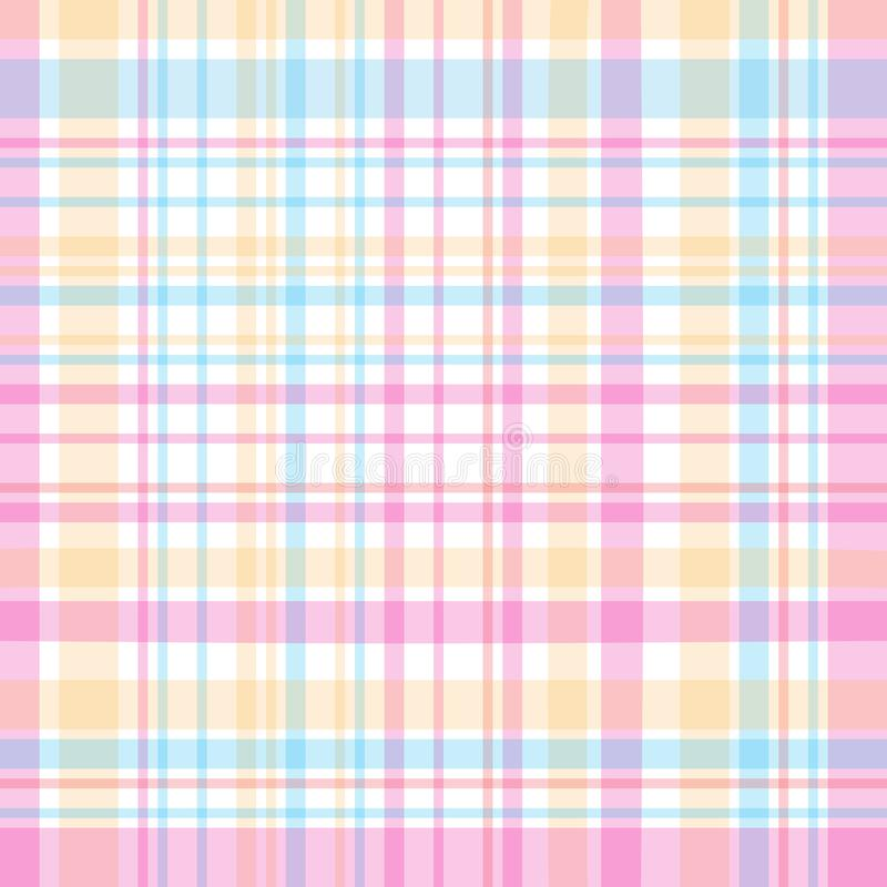 Tartan traditional checkered british fabric pattern vector illustration