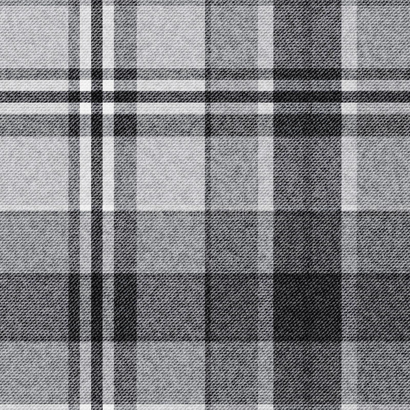Tartan, w kratkę bezszwowy tkaniny tło ilustracja wektor