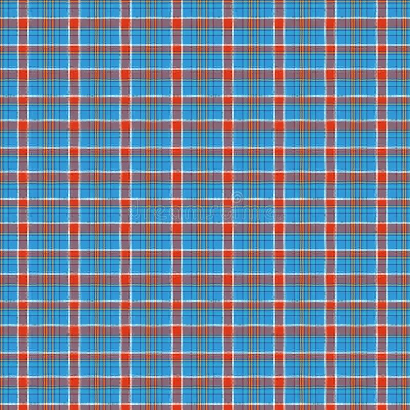 Tartan, wektoru wz?r w szkockiej kracie z powtarzalnym motywem ilustracji