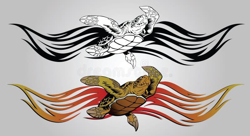 Tartaruga illustrazione di stock