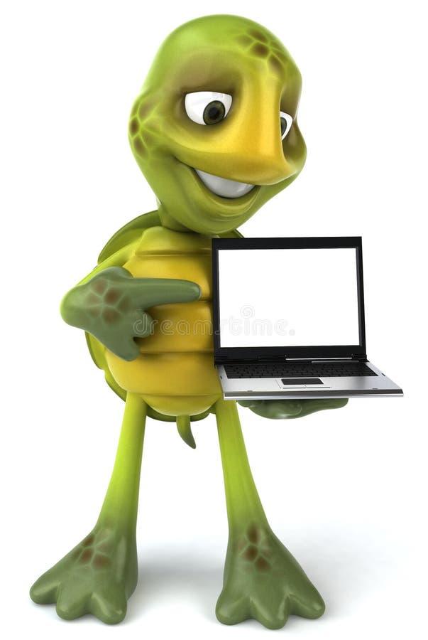 Tartaruga do divertimento ilustração stock
