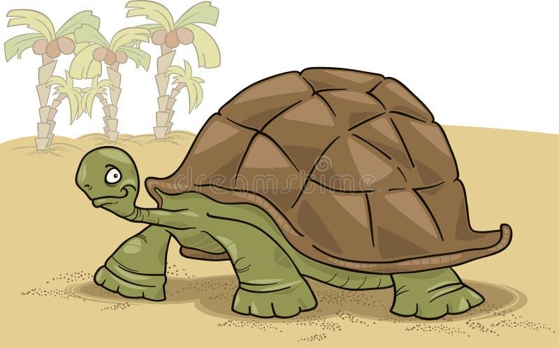 Tartaruga grande ilustração royalty free