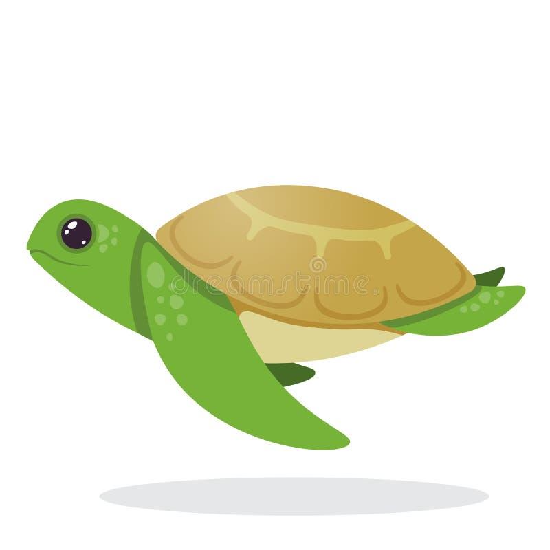 Tartaruga Imagem de uma tartaruga ilustração do vetor