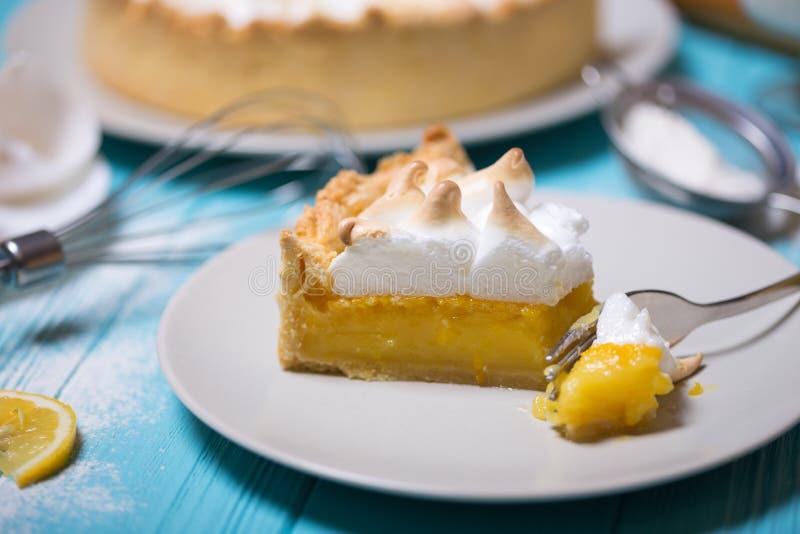 Tartas deliciosas del limón imágenes de archivo libres de regalías