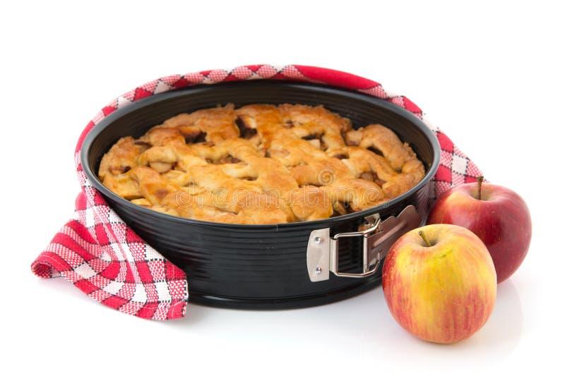 Tarte aux pommes images stock