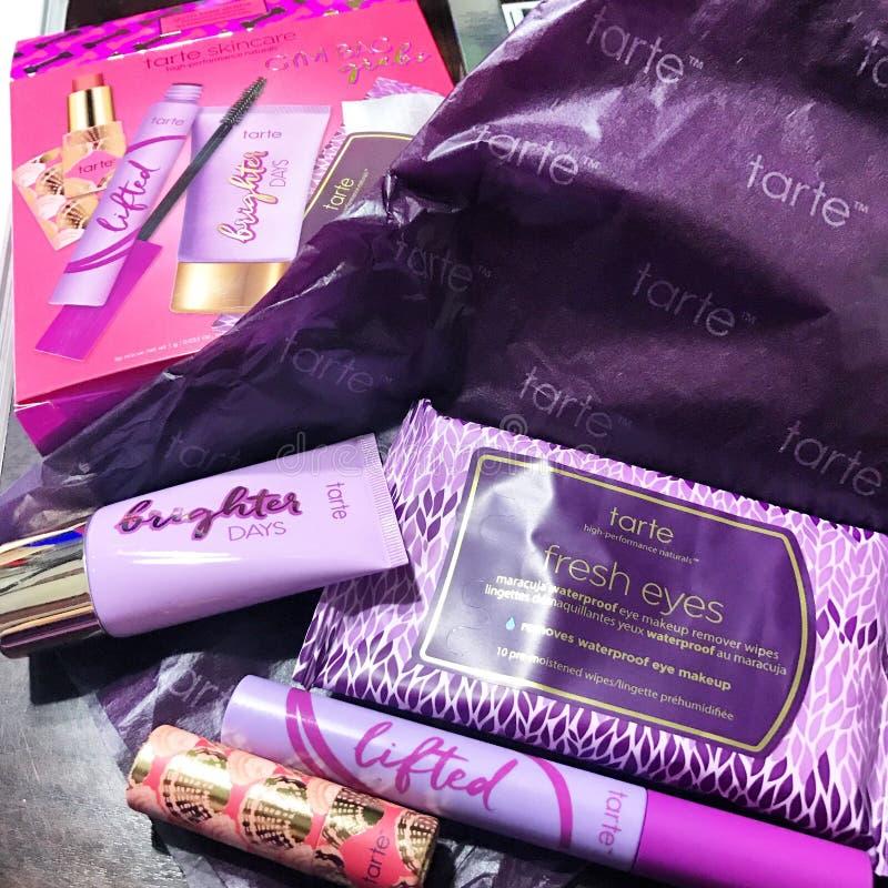Tarte cosmetics kit stock image