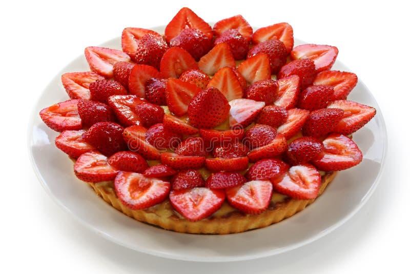 Tarte de fraise images stock