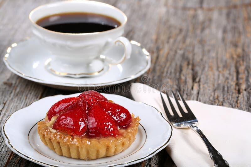 Tarte de fraise photographie stock libre de droits