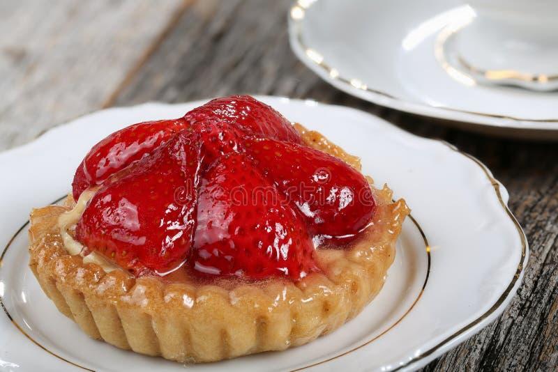 Tarte de fraise images libres de droits